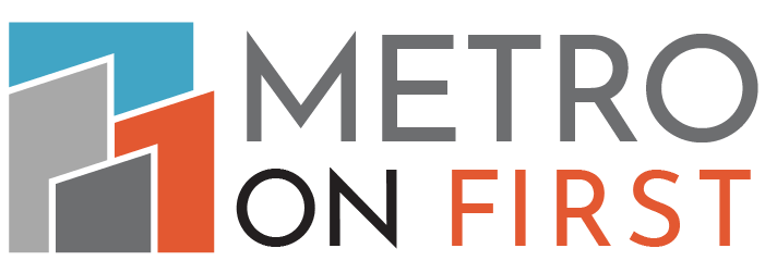 Metro on First Logo