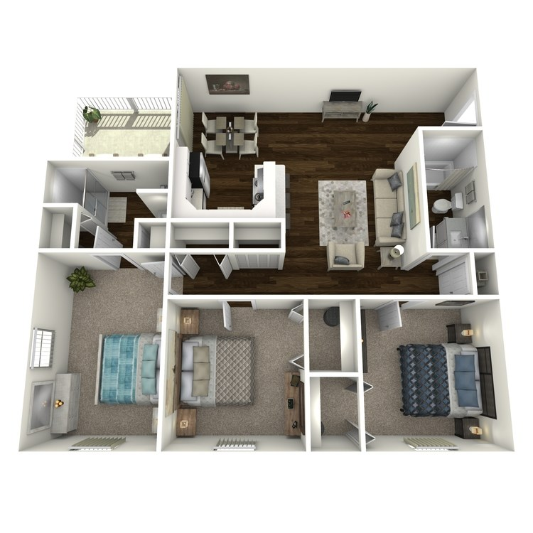 Floor plan image of Caladesi B