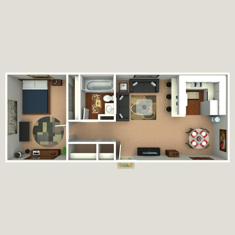 Floor plan image of Honeymoon