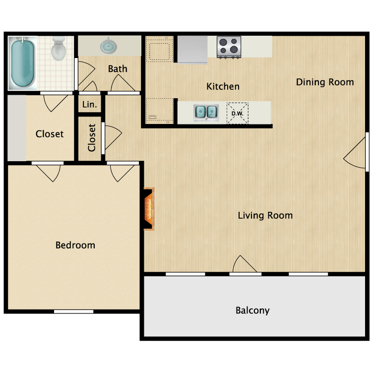 British Woods Apartments - Availability, Floor Plans & Pricing