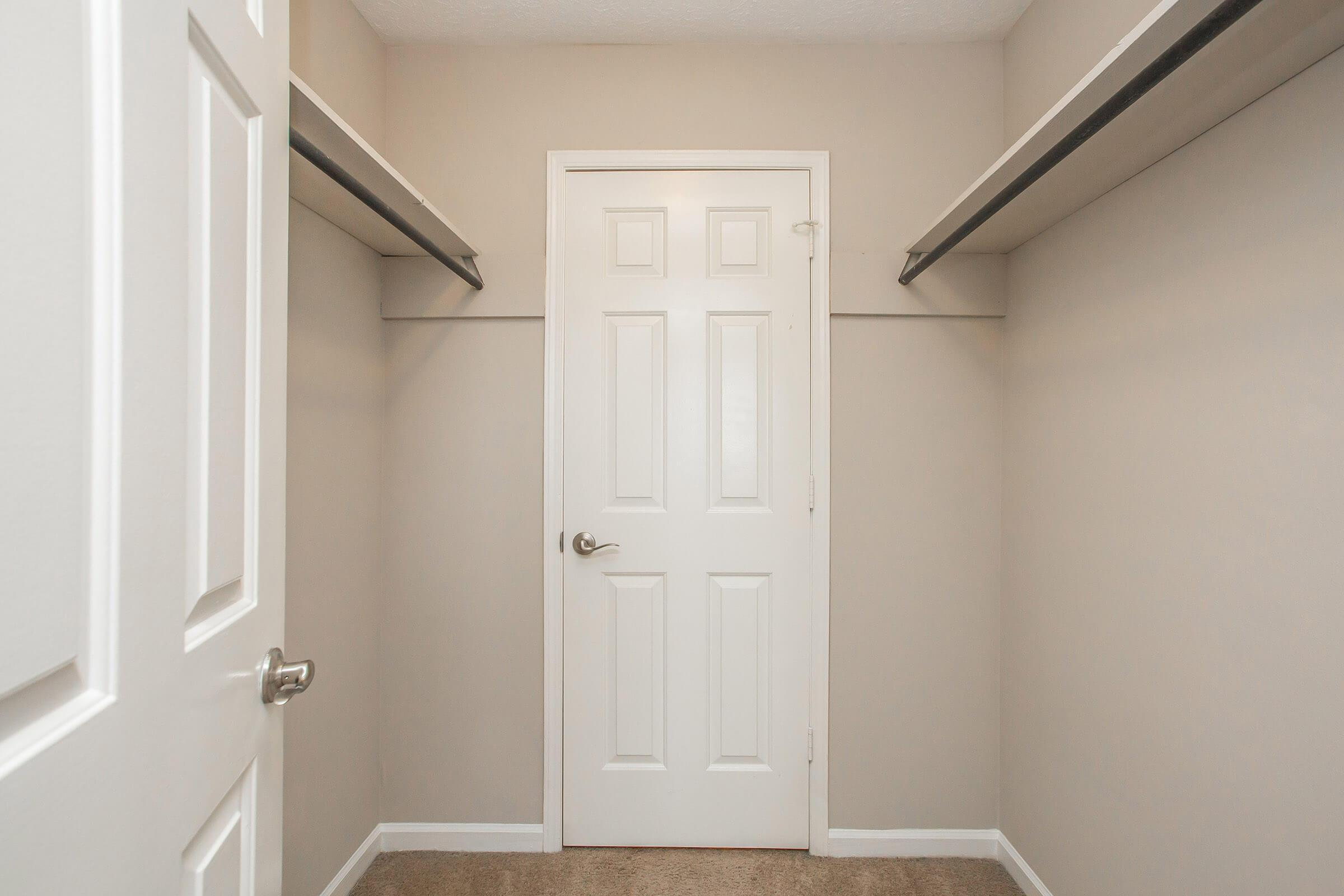 Large closet in Garden floor plan