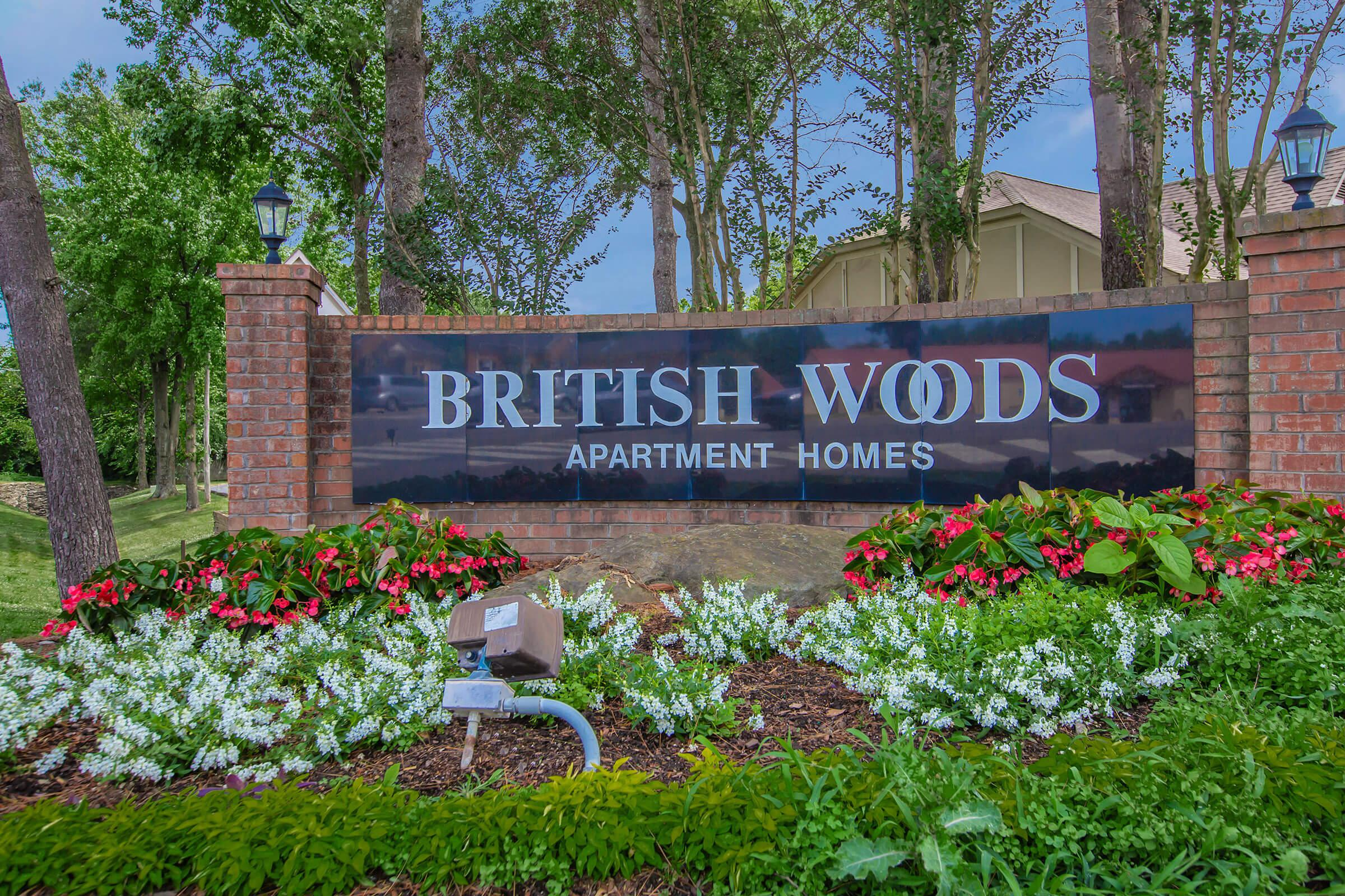 Welcome home to British Woods Apartments