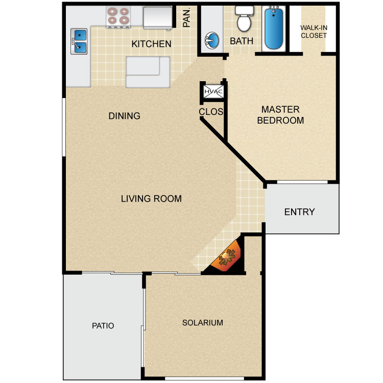 A3S floor plan image