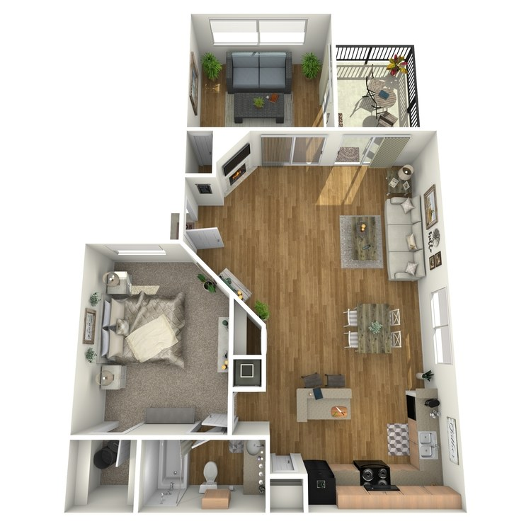 Floor plan image of A3S
