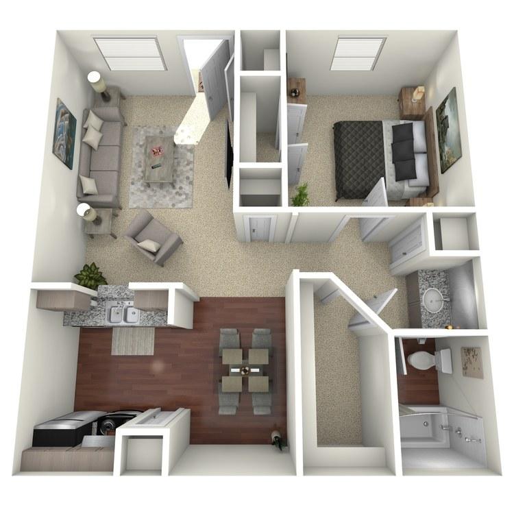 Floor plan image of Denton