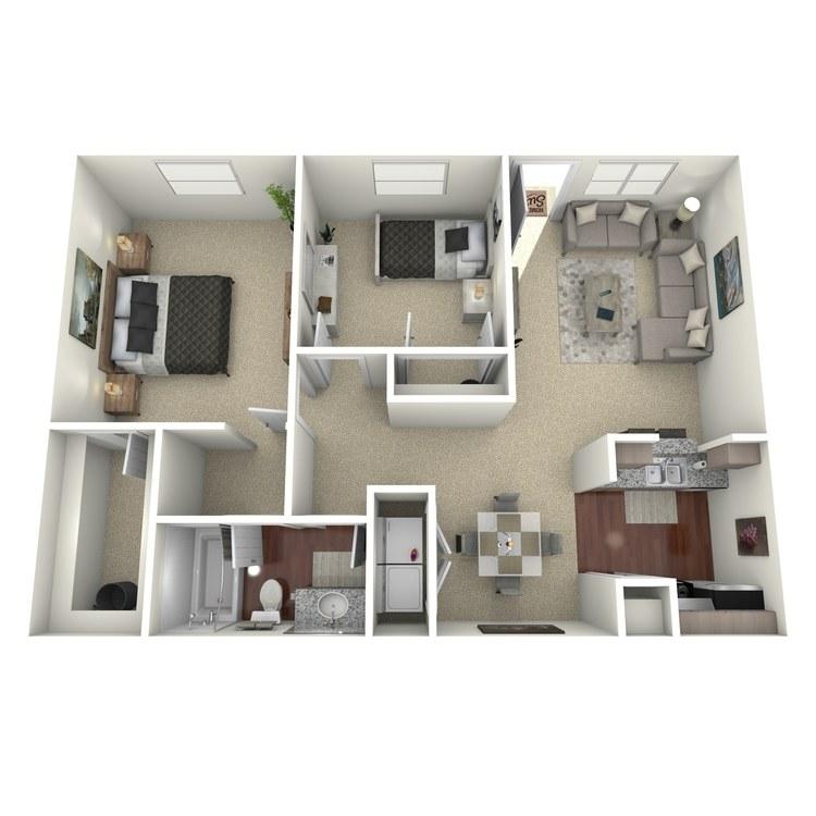 Floor plan image of Graham
