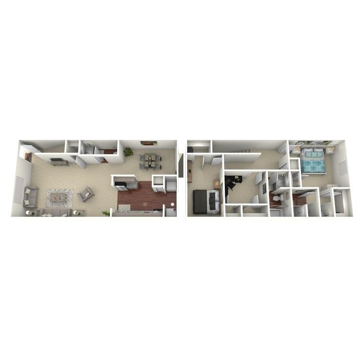 Floor plan image of Overton
