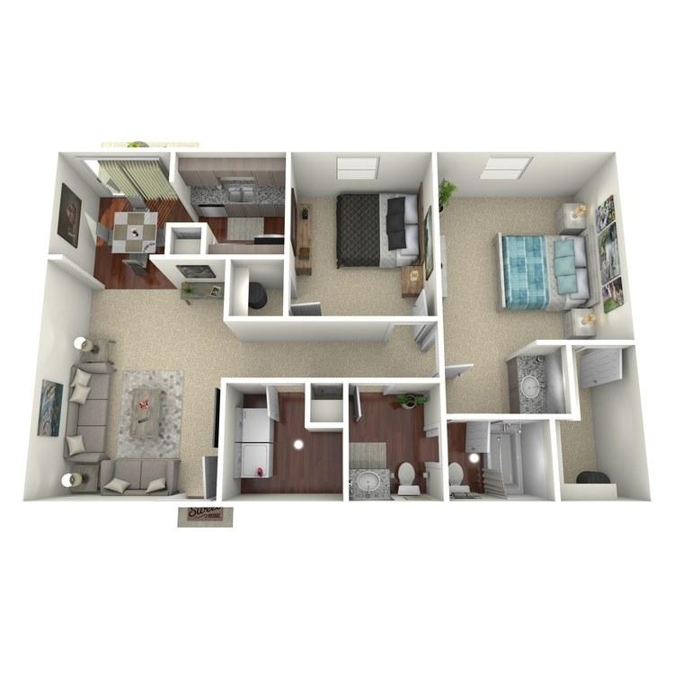 Floor plan image of Hutto