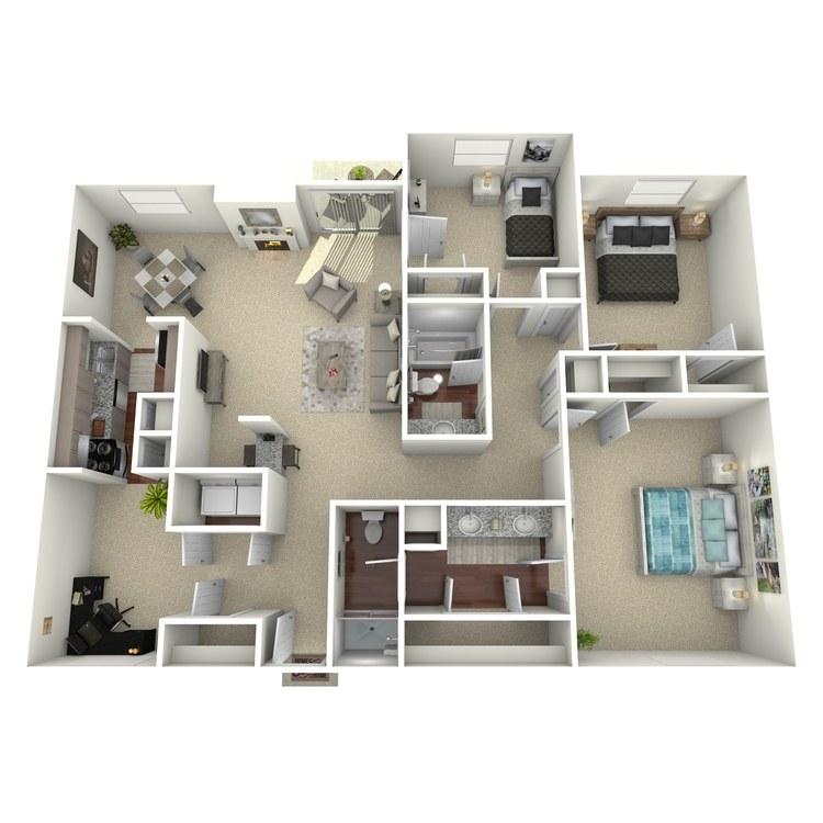 Floor plan image of Navasota