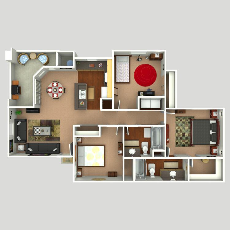 Floor plan image of Sierra