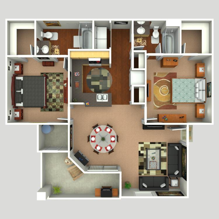Floor plan image of Vista