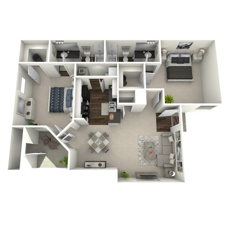 Floor plan image of Elm
