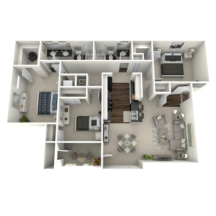 Floor plan image of Hemlock