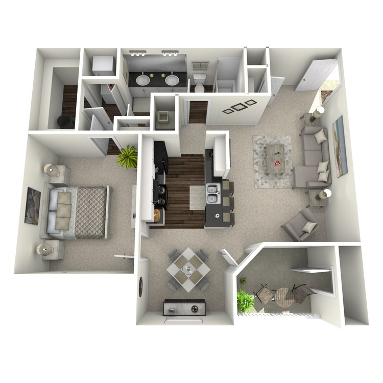 Floor plan image of Laurel