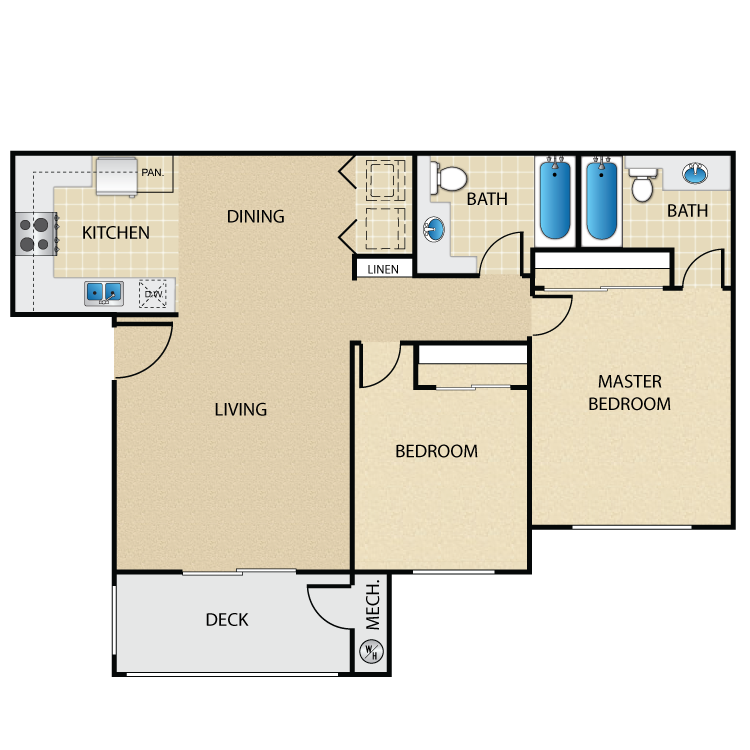 Catalina floor plan image