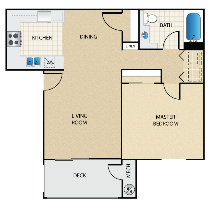 Newport floor plan image