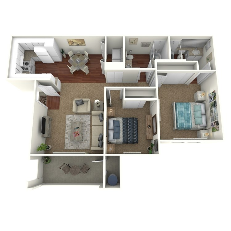 Floor plan image of Catalina