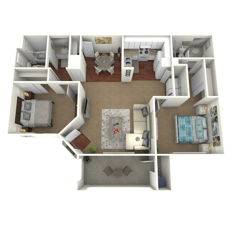 Floor plan image of La Jolla
