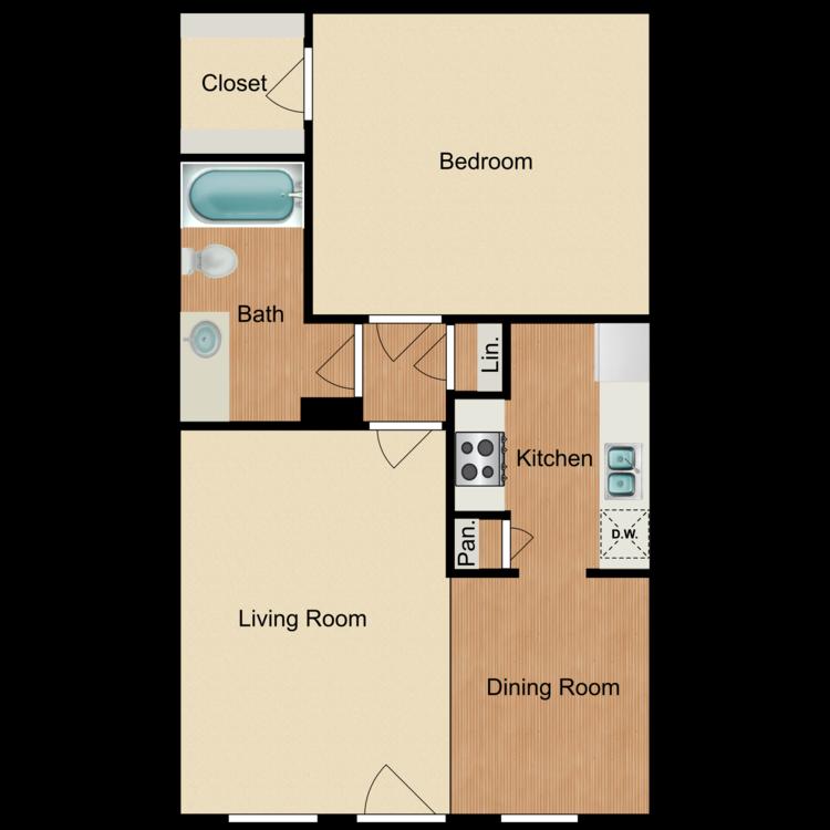 Aurora floor plan image