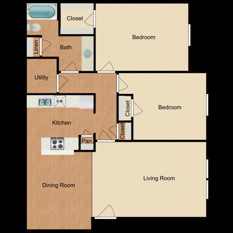 Port floor plan image