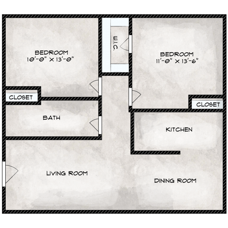 Floor plan image of Clover Leaf
