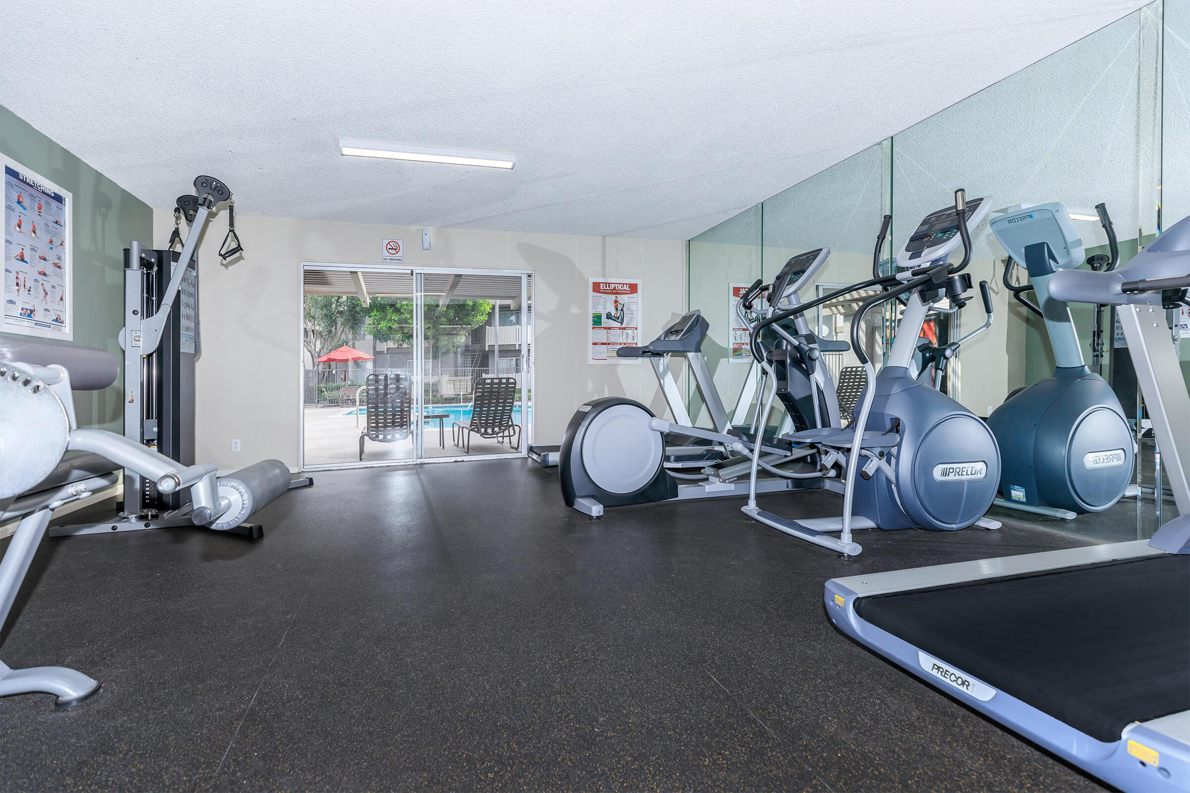 Monte Verde Apartment Homes community gym