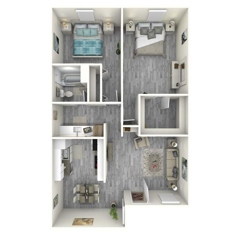 Floor plan image of Sunset Remodeled