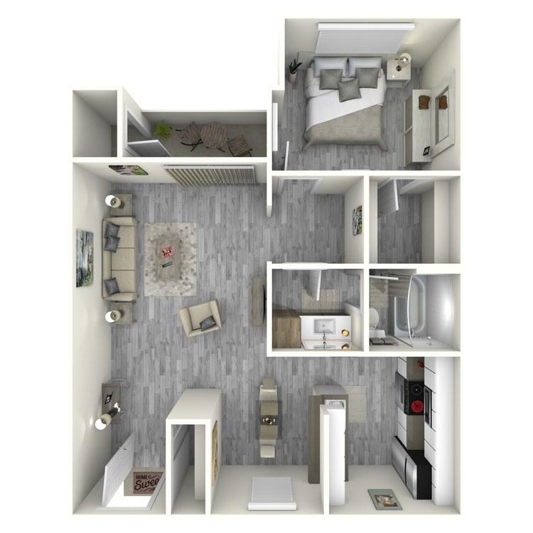 Floor plan image of Sunrise Remodeled