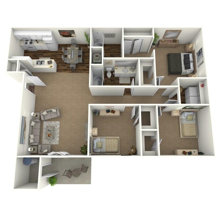 Floor plan image of C1