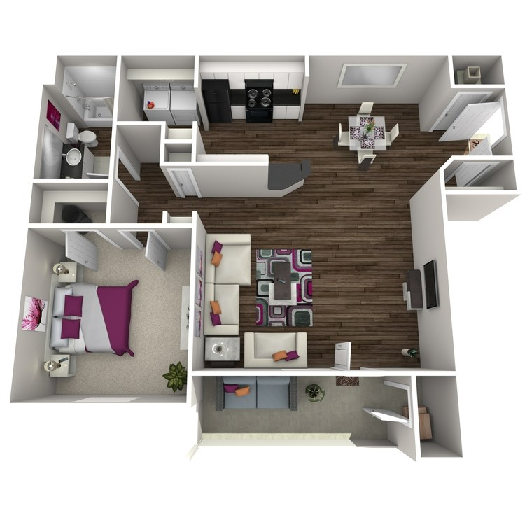 Floor plan image of Allium