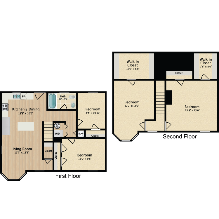 Floor plan image of 4 Bed TH