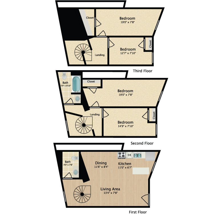 Floor plan image of 4 Bed 811