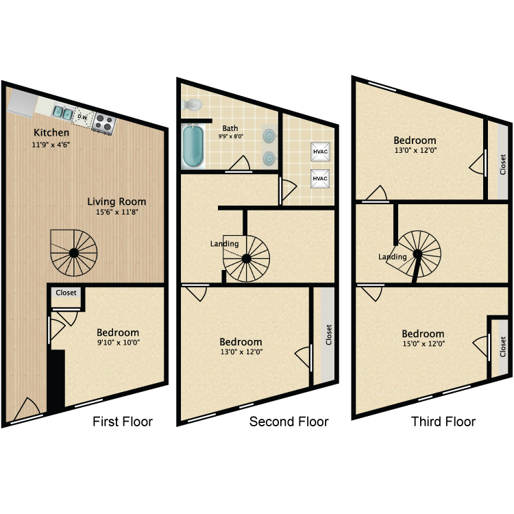 Floor plan image of 4 Bed 812