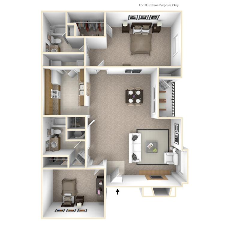 Floor plan image of Alexandria