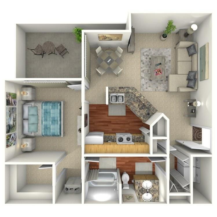 Floor plan image of Senita