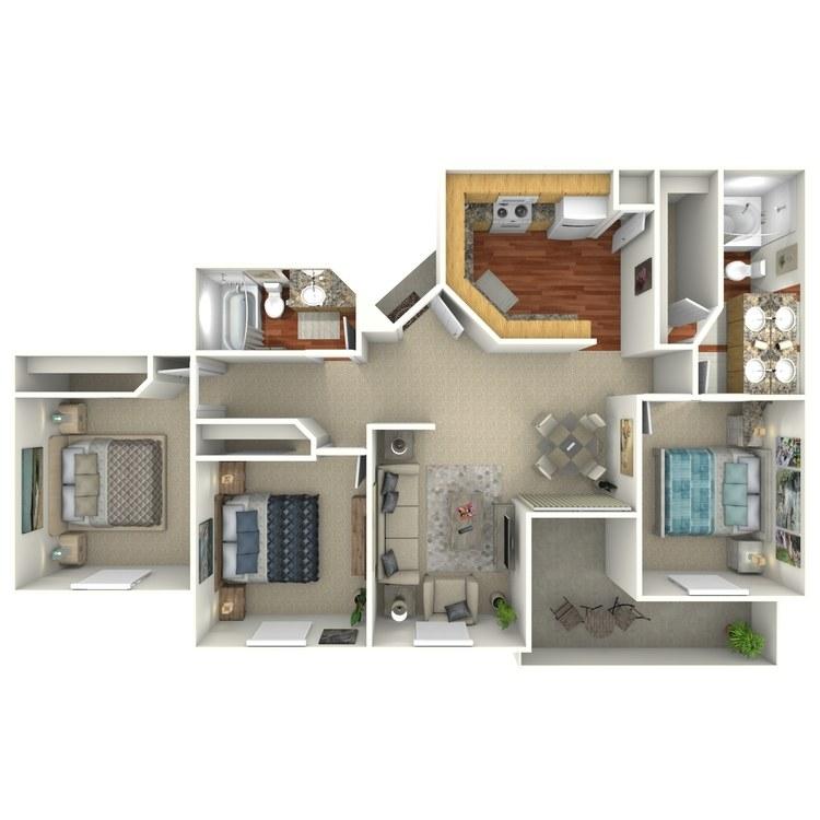 Floor plan image of Desert Lilly