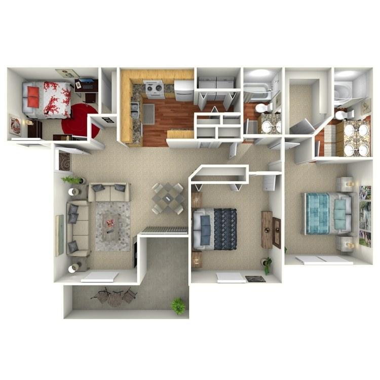 Floor plan image of Larkspur