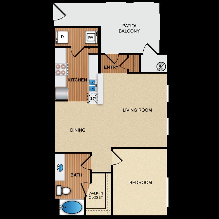 Floor plan image of 1B1