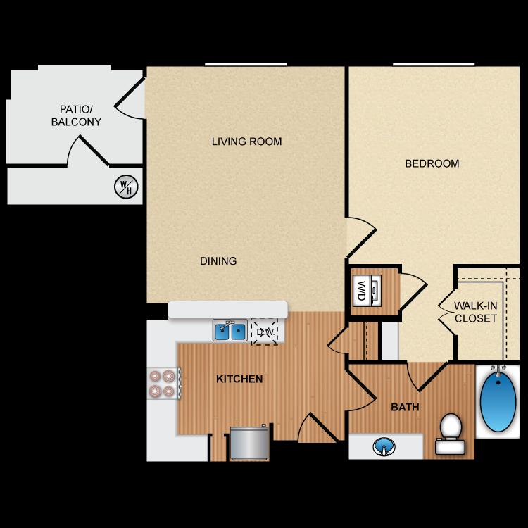 Floor plan image of 1C1
