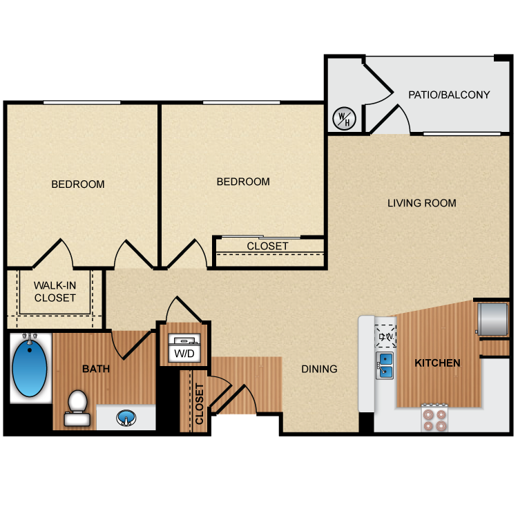 Floor plan image of 2A1