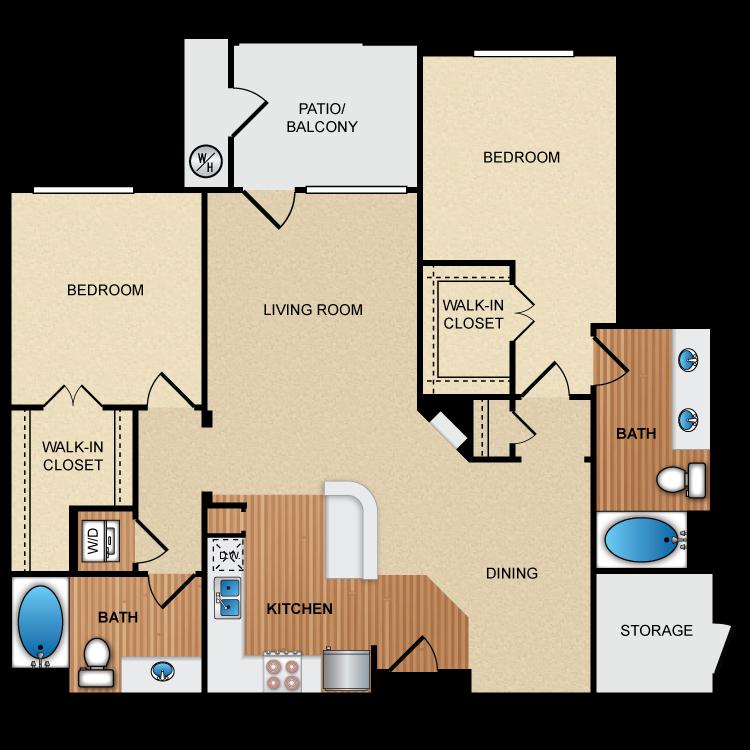 Floor plan image of 2E2