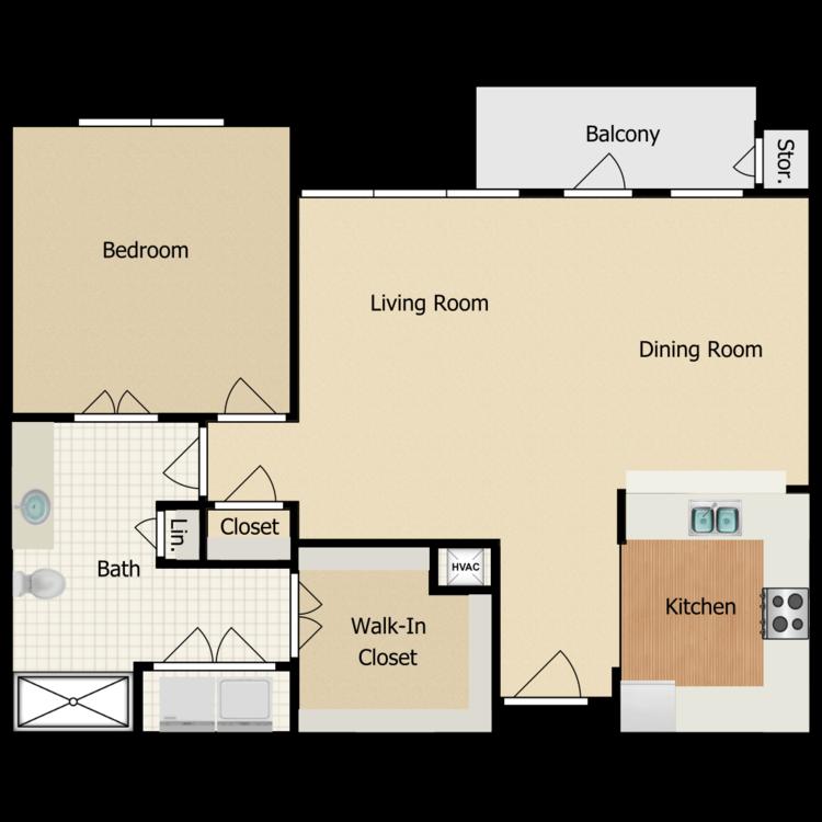 Floor plan image of Creekwood