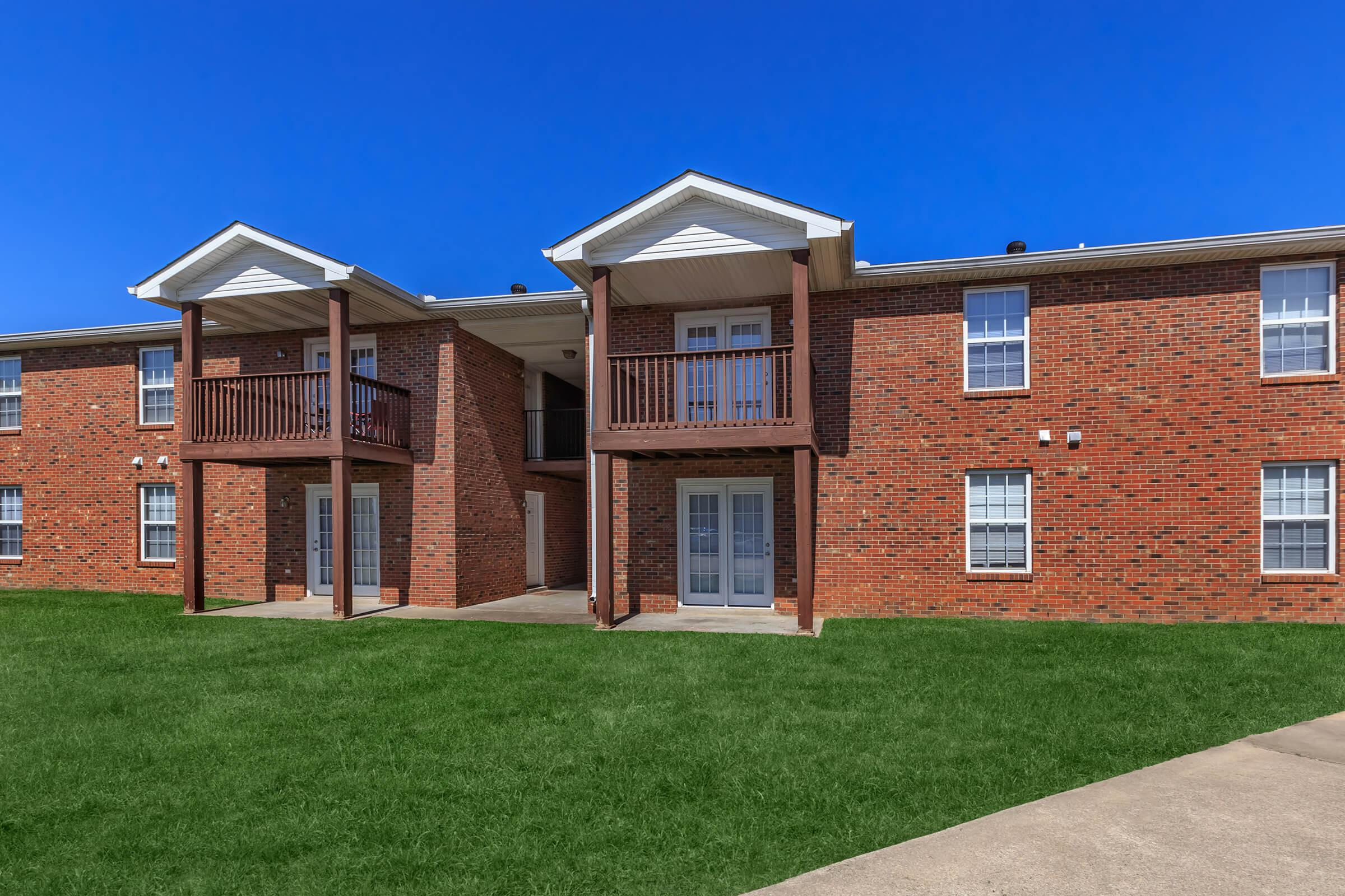 Beautifully landscaped community in Clarksville Tennessee