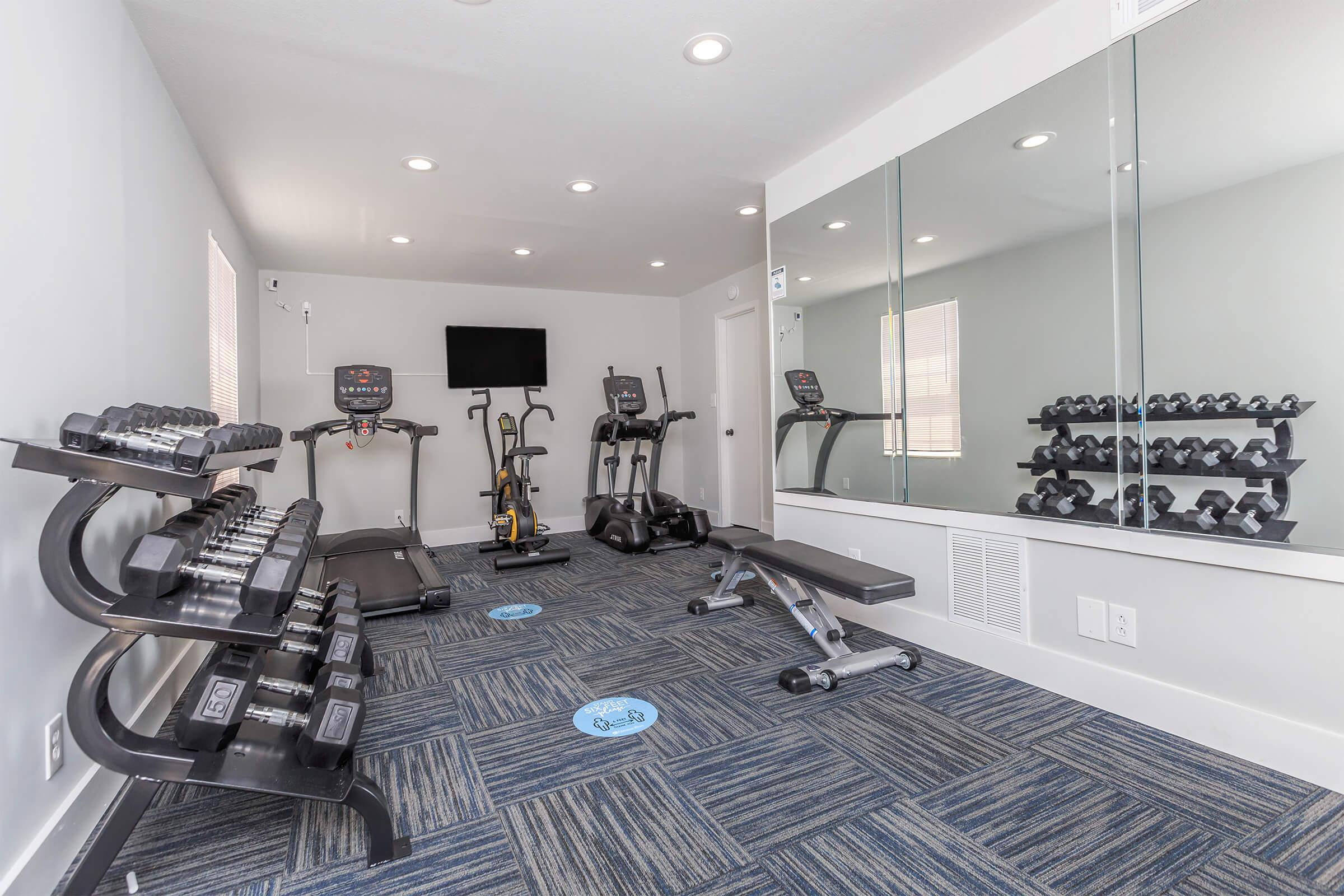 Fitness center at Summertrees