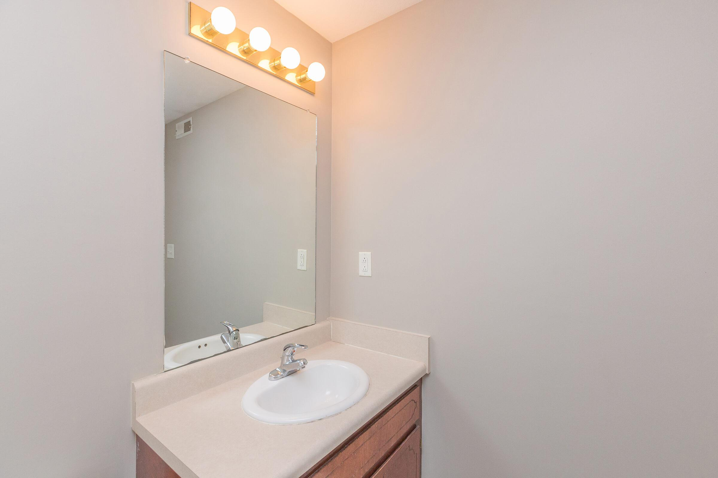 Bathroom at SummerTrees Apartments