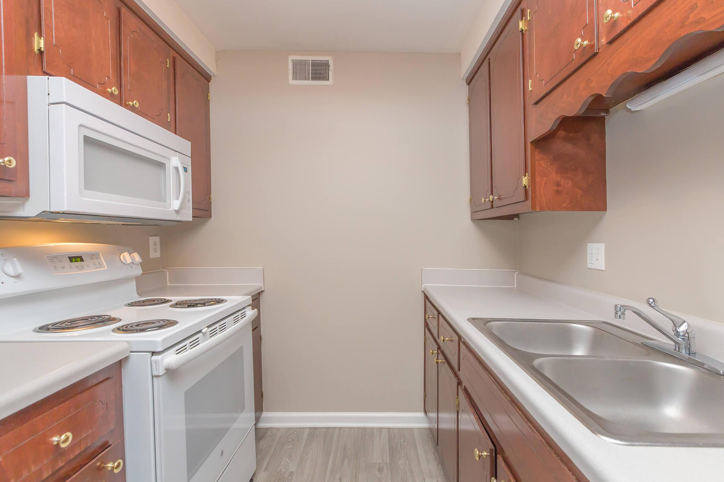 All-Electric Kitchen at SummerTrees Apartments