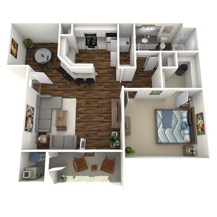 Floor plan image of Heron