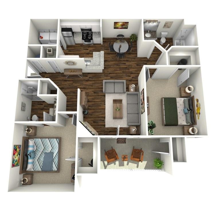Floor plan image of Crane