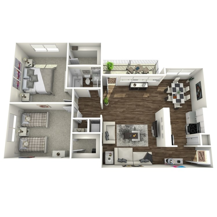 Floor plan image of The Arise