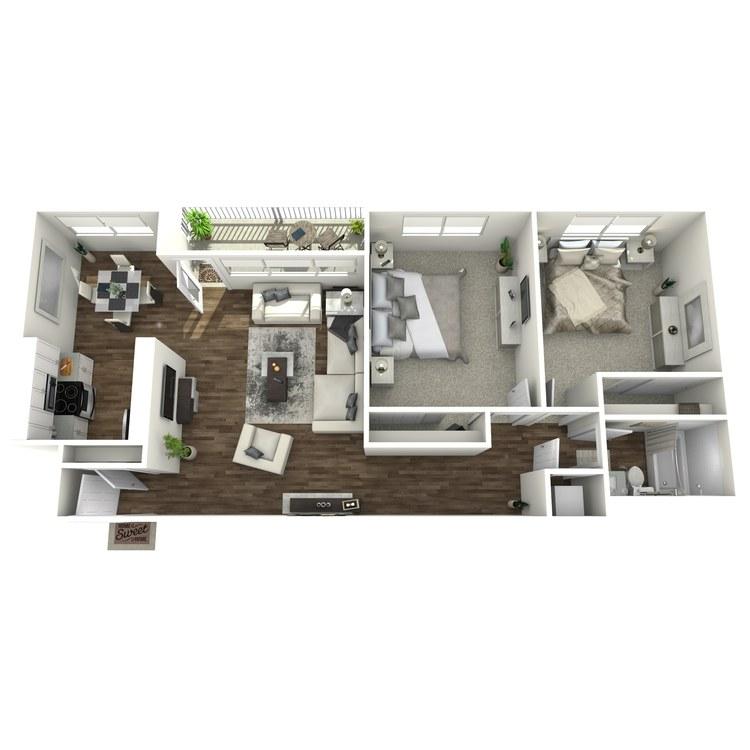 Floor plan image of The Uplift